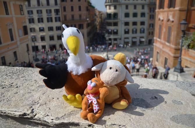 Ya que a Estambul no nos llevaron, volamos con el Buitre a Roma