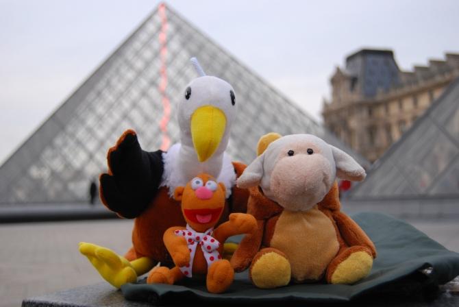 CINCO, París es la quinta AQUI ESTAMOS en la CIUDAD DEL ARTE