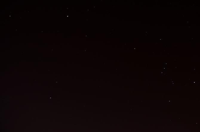 Sirio y Orion