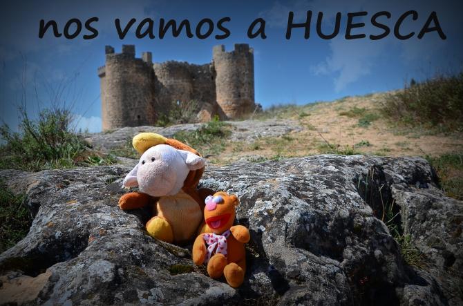 Nos vamos a Monzon en Huesca
